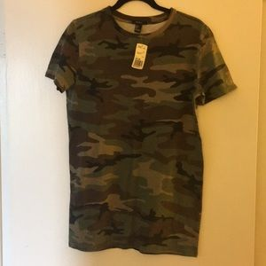 Forever 21 New with tags S camo dress